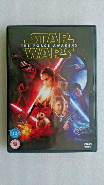Star Wars The Force Awakens  (DVD, 2015)
